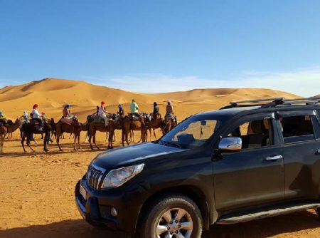 Viajes por el desierto de Sahara